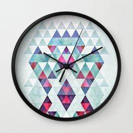 crwwn hym Wall Clock
