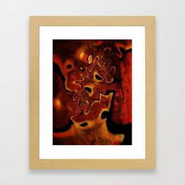 Corroded Dreams Framed Art Print