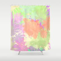 camouflage Shower Curtains featuring camouflage by 83 Oranges™