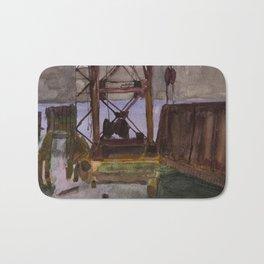 Sunken Landing Bath Mat