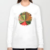 brasil Long Sleeve T-shirts featuring Brasil by Lyle Hatch