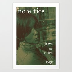 Noetics.  Art Print
