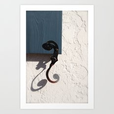 A Perfect Shadow Art Print