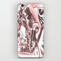 madonna iPhone & iPod Skins featuring La Madonna by Davide Spinelli