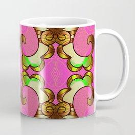 Vintage Groovy Bougie Geometric Coffee Mug
