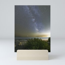 Milkyway at Pebble Beach Mini Art Print
