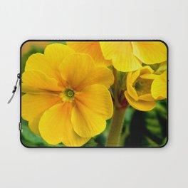 Yellow Heartsease Flower Laptop Sleeve