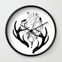 Innocent Stag Wall Clock
