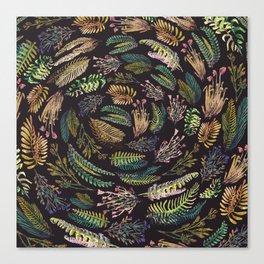 circular garden Canvas Print