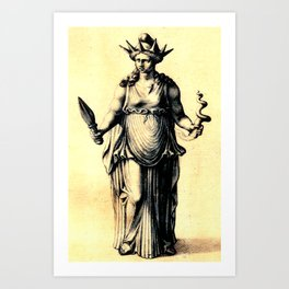 Hecate The Young Art Print