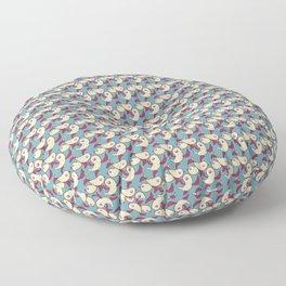 Birds - Deeppink Floor Pillow