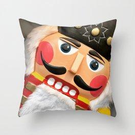 Nutcracker Christmas graphic Design Throw Pillow