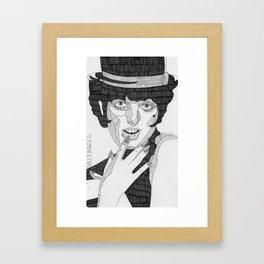 Sally Bowles Framed Art Print