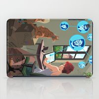 laptop iPad Cases featuring Laptop by Josue Noguera