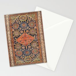 Hamadan  Antique West Persian Rug Print Stationery Cards