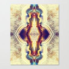 Petrified Flower Canvas Print