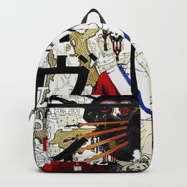 Japanese Geisha Popart Beautiful Illustration  Backpack