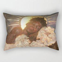 She is Rectangular Pillow