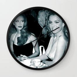 FEUD: BRITNEY AND CHRISTINA Wall Clock