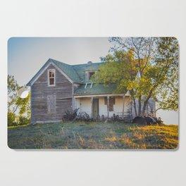 Abandoned Farmstead, North Dakota 5 Cutting Board