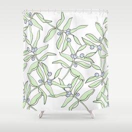 Laurel + Berries Shower Curtain