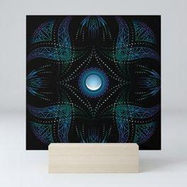 energy moon Mini Art Print