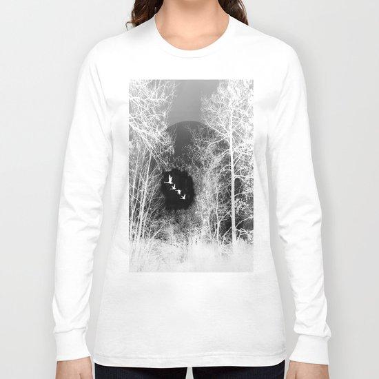 Tree and sky Long Sleeve T-shirt