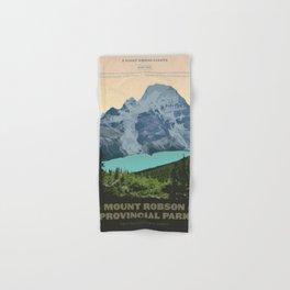 Mount Robson Provincial Park Hand & Bath Towel