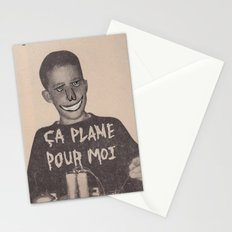 ÇA PLANE POUR MOI Stationery Cards
