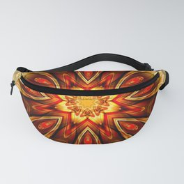 Mandalas from the Depth of Love 21 Fanny Pack