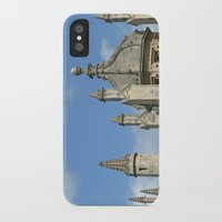 spires iPhone & iPod Cases featuring Spires of All Souls by Ann Horn