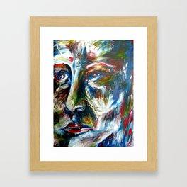 Colorful Haze  Framed Art Print