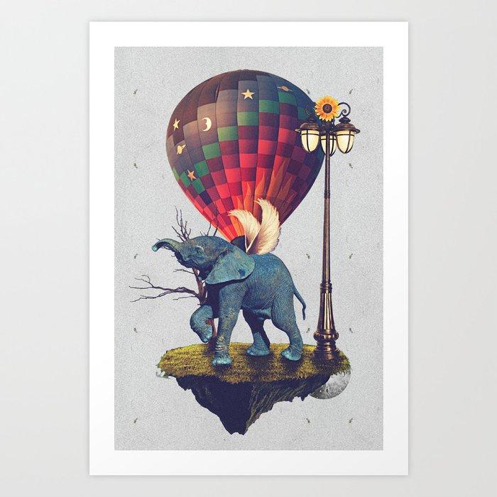Lfant. Art Print