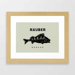 Barsch / Perch Framed Art Print
