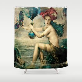 The Blessed Temperance Shower Curtain