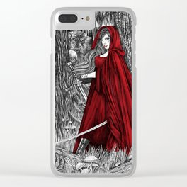 Silent Warrior by Tierra Jackson Clear iPhone Case