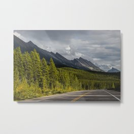 Icefields Parkway, Early September Metal Print