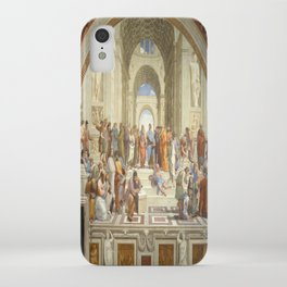 Raphael's The School of Athens iPhone Case