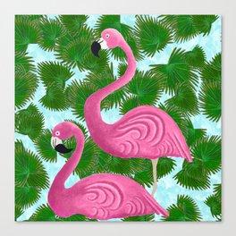 Flamingo Fun Canvas Print