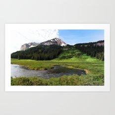 Crested Butte Art Print