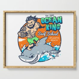 Ocean King Serving Tray