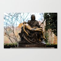 religious Canvas Prints featuring Religious by Nevermind the Camera
