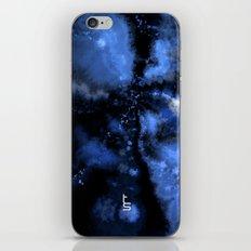Dark Blue Vortex II iPhone & iPod Skin