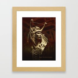 First peoples Power Framed Art Print