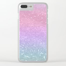 Unicorn Princess Glitter #1 (Photography) #pastel #decor #art #society6 Clear iPhone Case