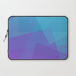 Purple Geometry Laptop Sleeve
