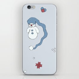Snow boy pattern iPhone Skin