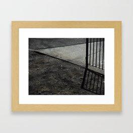 Fence'd Framed Art Print