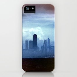 Foggy Skyline #22 iPhone Case