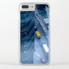 Taxicab of New York City Clear iPhone Case